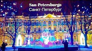 Санкт-Петербург новогодний - сказочная красота! Комментирую и показываю)