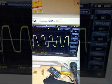 ISNA sweep test 1 to 70 MHz