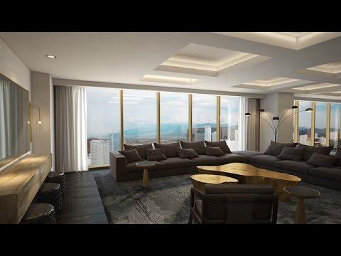 King suite tour delano las vegas youtube - Delano las vegas two bedroom suite ...