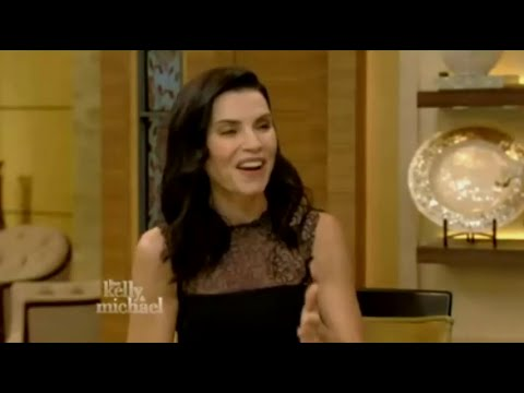 Julianna Margulies interview ! Live with Kelly and Michael 30 Sept 2015