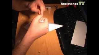 Как сделать воздушного змея / Воздушный змей из бумаги
