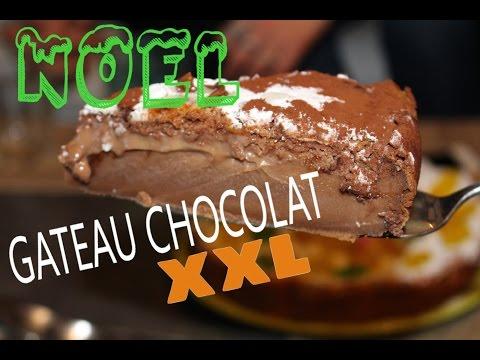 ❅-•-recette-gateau-noel-au-chocolat-xxl---facile-et-rapide---•-❅-christmas-cake---bolo-de-natal