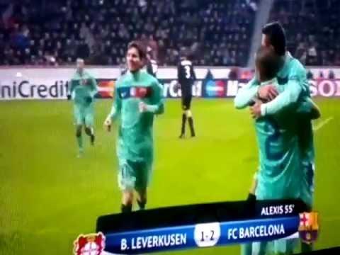Bayer Leverkusen 1 Barcelona 3