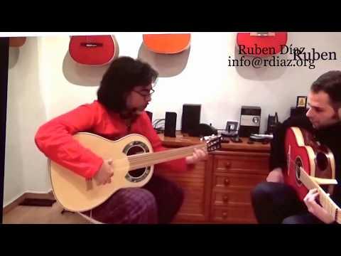 Ear training (21 Diminished scale) in modern flamenco /Learn Paco de Lucia´s Style/Ruben Diaz