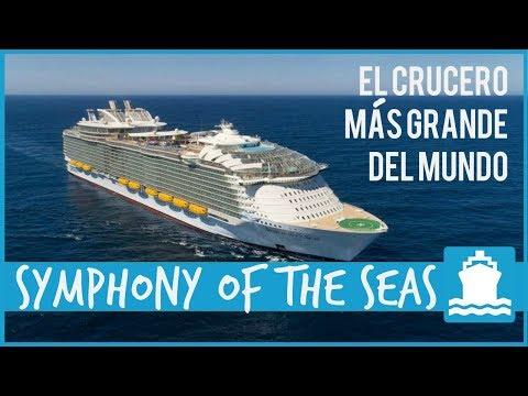 Symphony of the Seas (Royal Caribbean) - EL CRUCERO MÁS GRANDE DEL MUNDO