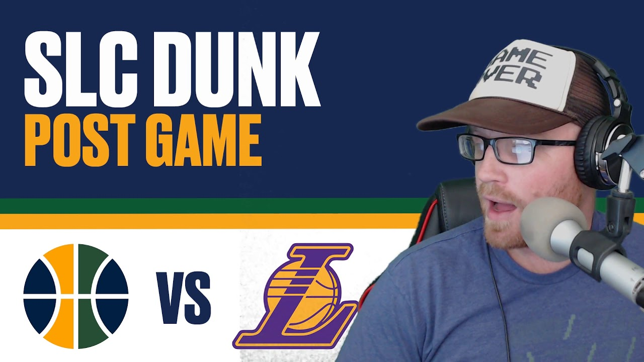 SLC Dunk Postgame  Utah Jazz defeat LA Lakers 10 28 2017 - YouTube 97e1a833c