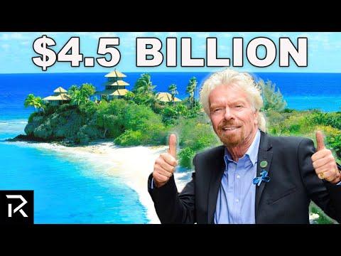 How Richard Branson Spent $4.4 Billion