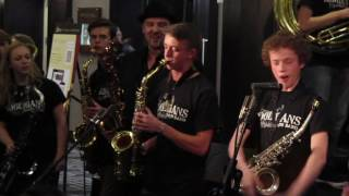 Hooligans Brass Band, AP Touro, JEN 2017 W/ Wycliffe Gordon