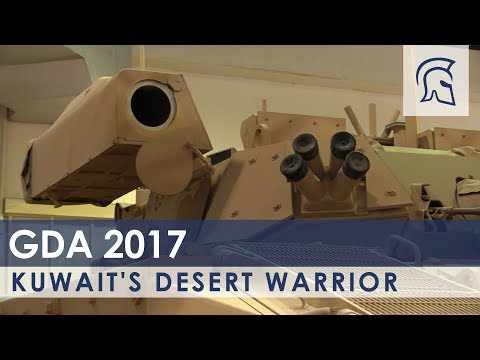 Inside Kuwait's Extremely Rare Warrior Fighting Vehicle