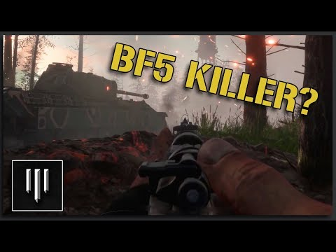 BATTLEFIELD 5 KILLER? - Hell Let Loose Gameplay Trailer First Impressions thumbnail