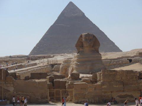 Мир боится времени а время боится... Египетские Пирамиды и Сфинкс. Слайд шоу