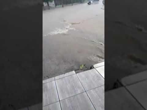 Chuva na cidade de Piritiba-BA