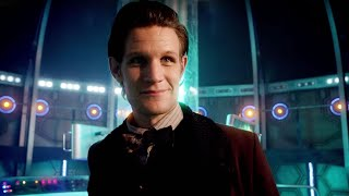 Entering The TARDIS (Smaller On The Outside) | The Snowmen | Doctor Who | BBC