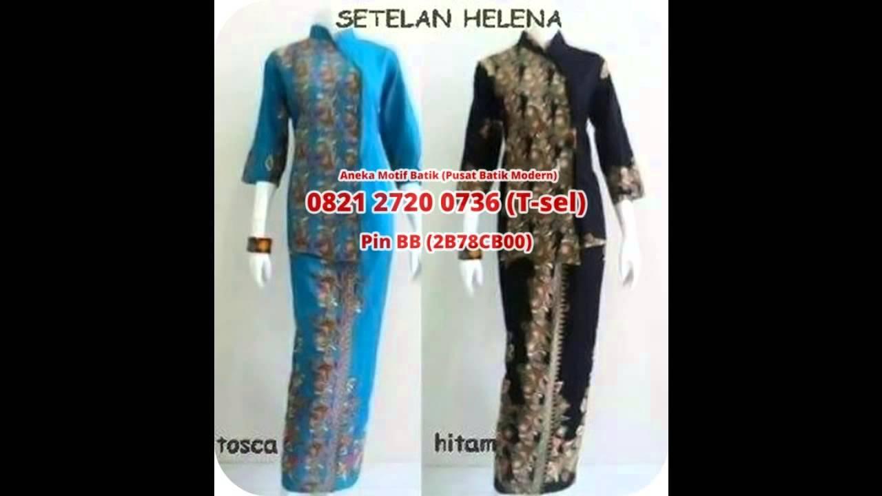 Gambar Desain Baju Batik Muslim Inforemaja