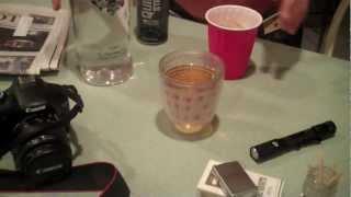 Behind The Scenes of Drunken Bike Ride: Liquor Drinks