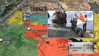 13 октября 2017. Военная обстановка в Сирии. Турция начинает новую военную операцию в Сирии.