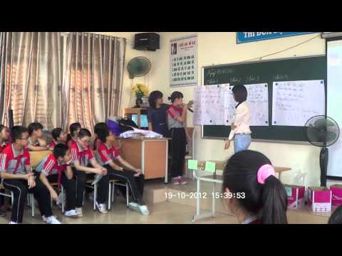 [TeachersTryScience] Trash And Recycling Rule - Vietnam-Algeria Secondary School