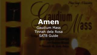 Gaudium Amen - SATB