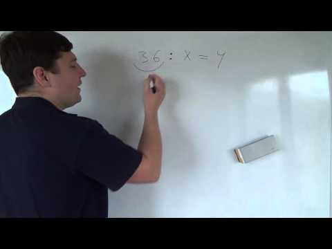 Как решать уравнения на умножение
