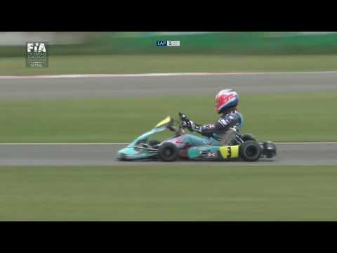 CIK FIA EUROPEAN CHAMPIONSHIP 2017 ROUND 3 KZ FINAL