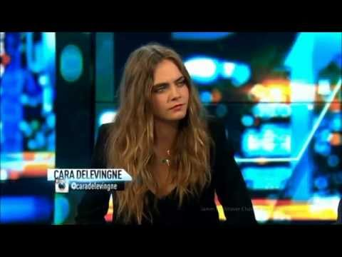 "Cara Delevingne on ""Paper Towns"", Fearless Acting & Those Eyebrows Australian Tv Interview"