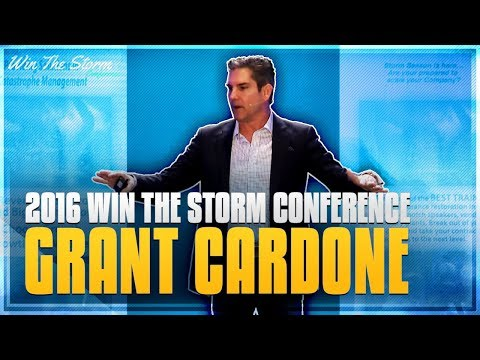2016 Win The Storm Conference - Grant Cardone