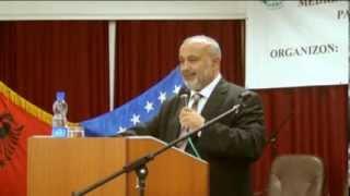 Sevki Yilmaz - Prizren konusmasi (Kosova, 2013) (Shevki Jëllmazi në Prizren)