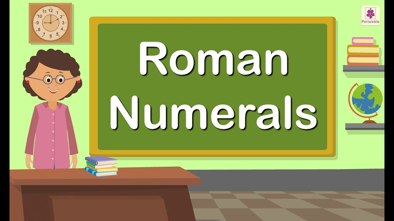 small resolution of Difference Between Indian Number System (Hindu Arabic System) and Roman  Numerals   Periwinkle - YouTube