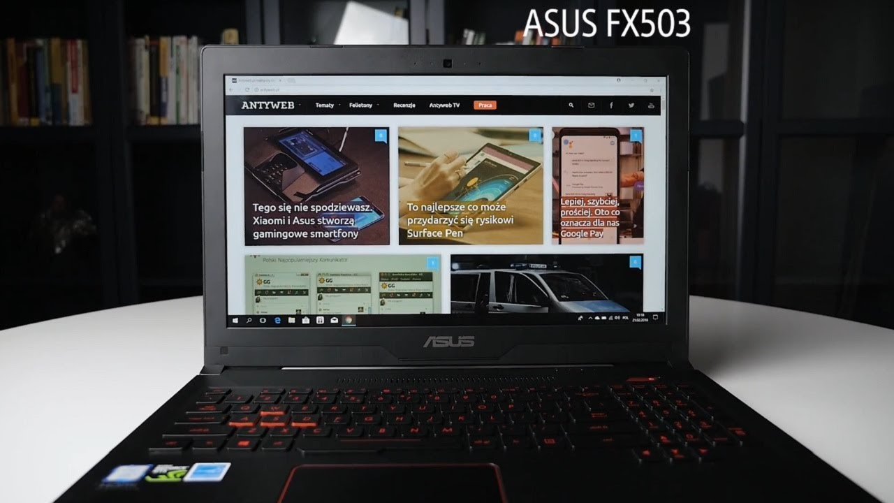 5 najmocniejszych cech laptopa ASUS FX503