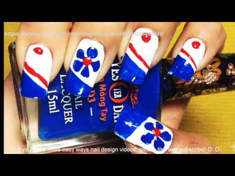 Nail Art Paint Ideas – Simple Cute Nails – Nails Polish Compilation – Chamroeun Part #91