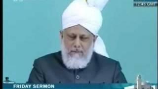 Проповедь Хазрата Мирзы Масрура Ахмада, (04-06-10) часть 4