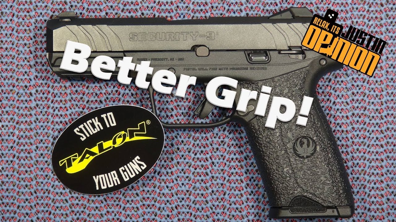 Talon Grip Install on Ruger Security-9