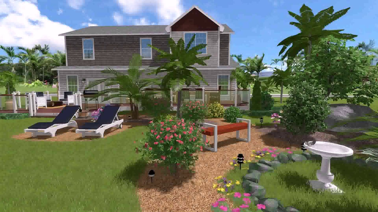 Landscape design program for mac free youtube for Garden design application