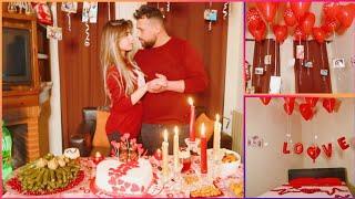 فاجأت ريتشو بمناسبة عيد الحب 😍 صدمتوا بالمفاجآت شوفو ردة فعلوا !! ريتشو وننوش