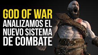 GOD OF WAR, el nuevo SISTEMA DE COMBATE a análisis