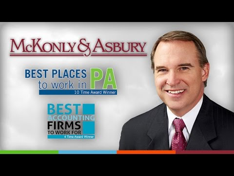 McKonly & Asbury's Sponsorship Video for the Central Penn Business of the Year Awards