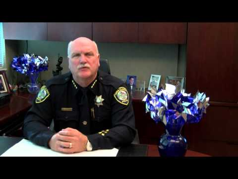 Chief Michael Sellers on Child Abuse Prevention Month during April 2015