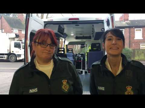 Tour around a Patient Transport Services ambulance