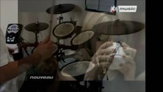 NIKENE - Regarde nous - Emma DAUMAS  - Trans cover drum