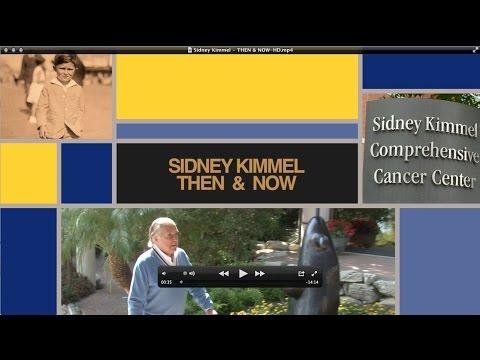 Sidney Kimmel - Then & Now