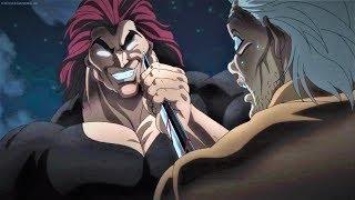 Yujiro Hanma breaks Motobe Sword with Finger and Meet Yanagi Scene| BAKI 2018 EPISODE 23 ENGLISH SUB