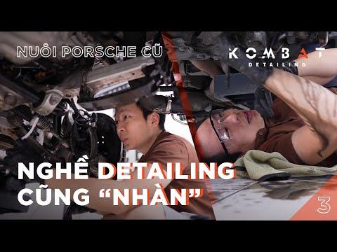 Chia sẻ chăm sóc gầm hốc Porsche   Mua xe cũ cần làm gì!? P3