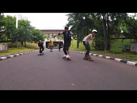 Main Electric Longboard di CFD Jakarta [Personal VLog]