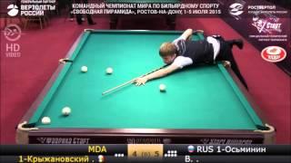 Фееричная концовка командного чемпионата мира. Молдова - Россия.