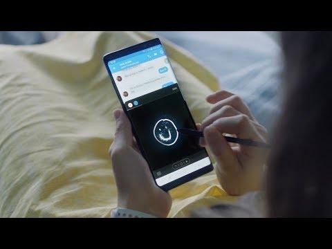Samsung presenta il nuovo Galaxy Note8 con S Pen e Infinity Display.