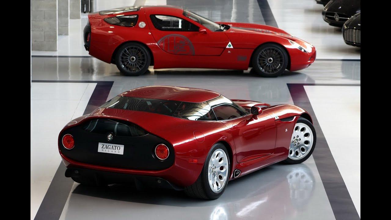 Alfa Romeo TZ3 Stradale Zagato First Look - YouTube