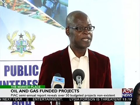 Oil and Gas Funded Projects - The Market Place on Joy News (10-4-18)