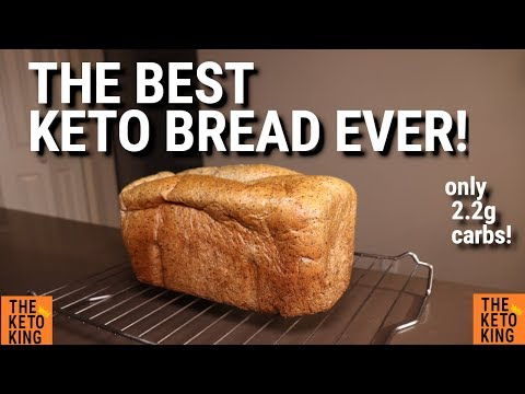 The Best Keto Bread Ever Keto Yeast Bread Low Carb Bread Low