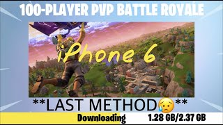 HOW TO GET FORTNITE ON IPHONE 6 SEASON 9**LATEST METHOD**