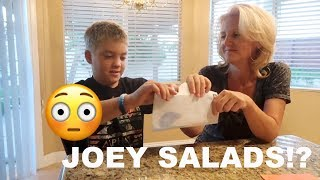 WE GOT JOEY SALADS PEE IN THE MAIL!